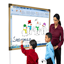 INTERACTIVE SMART BOARD CLASSROOM